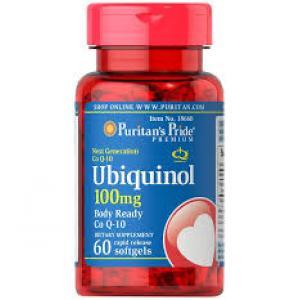 Puritan's Pride Ubiquinol 100 mg / 60 Softgels