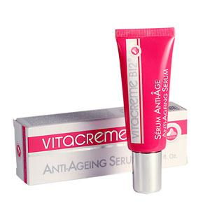 ลด 45 % VITACREME B12 Anti-ageing Serum เซรั่มเข้มข้น อุดมด้วยวิตามิน B12 ฟื้นฟู และลดเลือนริ้วรอย ไอเทมโปรดของ Norika Fujiwara