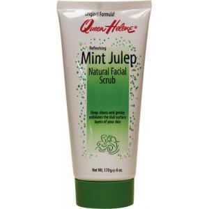ลด 23 % QUEEN HELENE :: Mint Julep Natural Facial Scrub สครับทำความสะอาดล้ำลึก ขจัดสิ่งอุตตันรูขุมขน