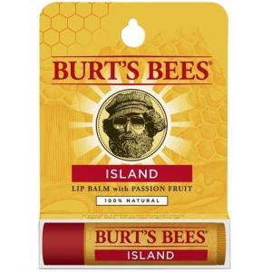 BURT'S BEES :: Burt's bee Island Lip Balm with Passion Fruit บำรุงริมฝีปากให้นุ่มชุ่มชื่นด้วยแพชชั่นฟรุต และโคโคนัทออย