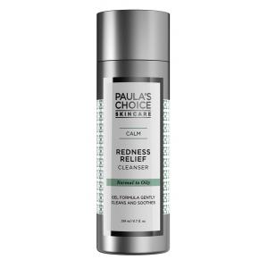 ลด 25 % PAULA'S CHOICE :: Calm Redness Relief Cleanser (Normal to Oily Skin) เจลล้างหน้าสูตรอ่อนโยน สำหรับผิวมันแพ้ง่าย ช่วยทำความสะอาดผิวล้ำลึก คืนความชุ่มชื่น ลดรอยแดง และอาการอับเสบของสิว บรรเทาอาการระคายเคือง