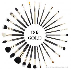 ลด 47 % SIGMA :: Extravaganza Complete Kit ชุดแปรงด้ามทอง 18K สุดหรู 29 ชิ้น พร้อมกระเป๋าหนังอย่างดี