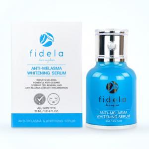 ฟิเดล่าเซรั่ม ( Fidela Anti-Melasma serum) เซรั่มลดฝ้าหน้าขาวใส 30 ml 1 ขวด