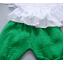 **ชุดเซ็ตกางเกงโจงกระเบนสีเขียวเสื้อแขนกุดขาว | เขียว | M-L-XL-2XL | 4ชุด/แพ๊ค | เฉลี่ย 170/ชุด thumbnail 3
