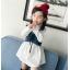 **เดรสเสื้อขาวแขนยาวเอี๊ยมยีนต์ ตามารูป size : 7-9-11-13-15 | 5ชุด/แพ๊ค | เฉลี่ย 300/ชุด thumbnail 3