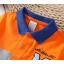 **เสื้อโปโล M ลายขวางส้มเทาน้ำเงิน | ส้มเทาน้ำเงิน | 4-6-8-10-12-14 | 6ตัว/แพ๊ค | เฉลี่ย 155/ตัว thumbnail 2