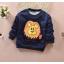 **เสื้อแขนยาวสิงโต น่ำเงิน size= S,M,L | 3ตัว/แพ๊ค | เฉลี่ย 150/ตัว thumbnail 1