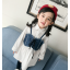 **เดรสเสื้อขาวแขนยาวเอี๊ยมยีนต์ ตามารูป size : 7-9-11-13-15 | 5ชุด/แพ๊ค | เฉลี่ย 300/ชุด thumbnail 1