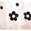 **เดรสแขนกุดชีฟองขาวลายดอกไม้ดำ   ขาวลายดำ   5-7-9-11   4ชุด/แพ๊ค   เฉลี่ย 180/ชุด thumbnail 2