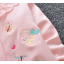 **เสื้อแขนยาว สีชมพูอ่อน รูปผีเสื้อ ผึ้งน้อย size= S-XL | 4ตัว/แพ๊ค | เฉลี่ย 175/ตัว thumbnail 5