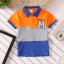 **เสื้อโปโล M ลายขวางส้มเทาน้ำเงิน | ส้มเทาน้ำเงิน | 4-6-8-10-12-14 | 6ตัว/แพ๊ค | เฉลี่ย 155/ตัว thumbnail 1