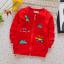 **เสื้อแขนยาวไดโนเสาร์&Car สีแดง size= L,L,XL,XL | 4ตัว/แพ๊ค | เฉลี่ย 150/ตัว thumbnail 1