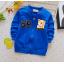 **เสื้อแขนยาว 68 หมีน้อย สีน้ำเงิน S-XL | 4ตัว/แพ๊ค | เฉลี่ย 150/ตัว thumbnail 1