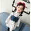 **เดรสเสื้อขาวแขนยาวเอี๊ยมยีนต์ ตามารูป size : 7-9-11-13-15 | 5ชุด/แพ๊ค | เฉลี่ย 300/ชุด thumbnail 4