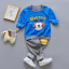 **ชุดเซ็ตBobDog สีฟ้ากางเกงขายาว size= 55-60-65-70 | 4ชุด/แพ๊ค | เฉลี่ย 150/ชุด thumbnail 1