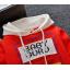 **เสื้อแขนยาว Baby Guru มีหมวก สีแดง size= s-xl | 4ตัว/แพ๊ค | เฉลี่ย 200/ตัว thumbnail 4