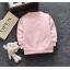 **เสื้อแขนยาว สีชมพูอ่อน รูปผีเสื้อ ผึ้งน้อย size= S-XL | 4ตัว/แพ๊ค | เฉลี่ย 175/ตัว thumbnail 2