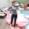 W6105001 ชุดว่ายน้ำผู้หญิงแขนยาว กางเกงขายาว กันแดด