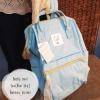 (Genuine) Anello backpack canvas mini sax(blue sky)