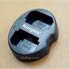 แท่นชาร์จแบตเตอรี่ USB แบบคู่ KINGMA สำหรับ SONY NP-FZ100 (A9 A7 III A7R III)