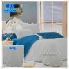 ผ้าปูที่นอนสีพื้น เกรด A สีเทาอ่อน ขนาด 6 ฟุต 5 ชิ้น