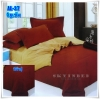 ผ้าปูที่นอนสีพื้น เกรด A สีอิฐเข้ม ขนาด 3.5 ฟุต 3 ชิ้น