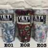 YETI Rambler แก้วเก็บความเย็น เก็บน้ำแข็ง 30 oz Model E แถมมือจับและหลอดโค้ง 1 อัน