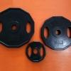 ขาย แผ่นน้ำหนักขนาด 2 นิ้ว โอลิมปิกแบบทรงเหลียม Olympic Octagon Rubber Plates
