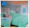 ผ้าปูที่นอนสีพื้น เกรด A สีเขียวมิ้นอ่อน ขนาด 6 ฟุต 5 ชิ้น