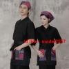 F6101009 ชุดผ้าฝ้ายซูชิกิโมโนสไตร์ญี่ปุ่น สำหรับห้องอาหารญี่ปุ่นเกาหลี เสื้อพนักงานต้อนรับ