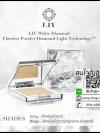 แป้งพัฟวิกกี้ LIV White Diamond Flawless Powder