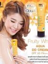 โลชั่น NNK Fruity White AQUA DD Cream SPF50 PA+++ ดีดีครีมน้องนะคะ กันน้ำ กันเหงื่อ