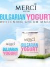 ครีมมาส์กบัลแกเรียโยเกริต์ (Merci Bulgarian Yogurt Whitening Cream Mask)