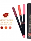 ทเวนตี้โฟร์ ลิป เพนซิล (Twenty Four Lip Pencil 3 Color lip)