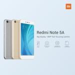 Xiaomi Redmi Note 5A RAM 2 / ROM 16 จอ 5.5 นิ้ว กล้อง 13 ล้าน