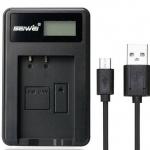 แท่นชาร์จแบตเตอรี่ USB สำหรับ NIKON EN-EL20