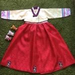 Hanbok Girl ฮันบกสำหรับเด็ก 6 ขวบ