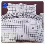 ผ้าปูที่นอนสไตล์โมเดิร์น เกรด A ขนาด 3.5 ฟุต(3 ชิ้น)[AS-317]