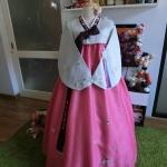 """Hanbok คลาสสิค งานปักมือ อก 36"""" สูง 160"""