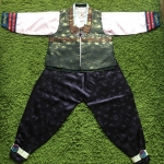 Hanbok boy ฮันบกผ้าไหม สำหรับเด็กชาย 11 ขวบ