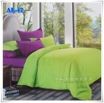 ผ้าปูที่นอนสีพื้น เกรด A สีเขียวอ่อน ขนาด 5 ฟุต 5 ชิ้น