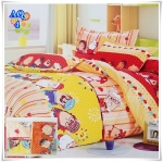 ผ้าปูที่นอน 3.5 ฟุต(3 ชิ้น) เกรด A [AQ-4]