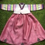 Hanbok Girl รุ่น sweet candy สำหรับเด็ก 6 ขวบ