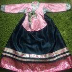 Hanbok Girl ฮันบกชาววังผ้าไหม สำหรับเด็ก 11 ขวบ