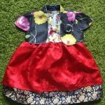Hanbok Girl ฮันบกผ้าไหม สำหรับเด็ก 1 ขวบ