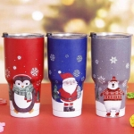YETI Rambler แก้วเก็บความเย็น เก็บน้ำแข็ง 30 oz Model Christmas
