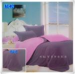 ผ้าปูที่นอนสีพื้น เกรด A ขนาด 6 ฟุต 5 ชิ้น