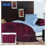 ผ้าปูที่นอนสีพื้น เกรด A สีม่วง ขนาด 5 ฟุต 5 ชิ้น