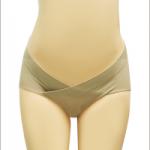 กางเกงในคนท้องไม่รอยต่อสีเนื้