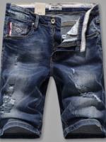 AM5909015 กางเกงยีนส์ชายขาสั้น แฟชั่นเกาหลี (พรีออเดอร์) รอ 3 อาทิตย์หลังชำระเงิน